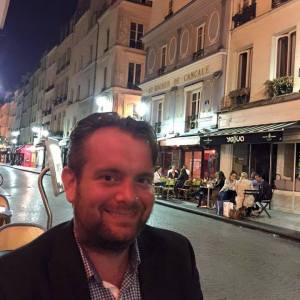 James Benmore in Paris
