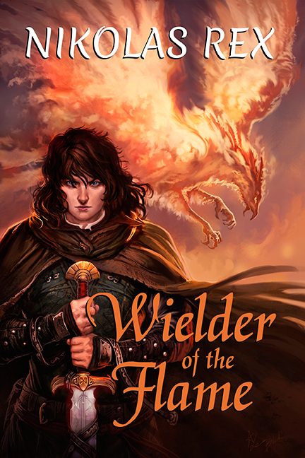 Wielder of the Flame 6 x 9 Book Cover Twitter SIze